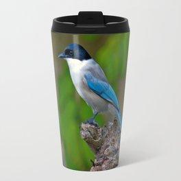 Azure-winged Magpie Travel Mug