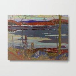 Tom Thomson River c. 1915 Canadian Landscape Artist Metal Print