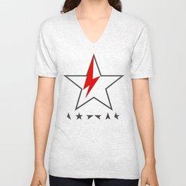 Bowie II Unisex V-Neck