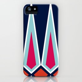 Mid Century Muse: Norms in Technicolor iPhone Case