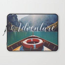 Live the Adventure - Typography Laptop Sleeve