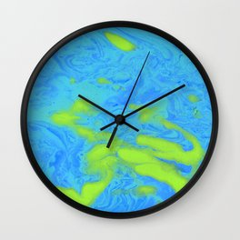 Paint Pouring 33 Wall Clock