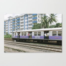 MUMBAI SUBWAY Canvas Print
