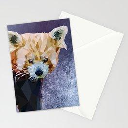 Macaroni - Red Panda Stationery Cards