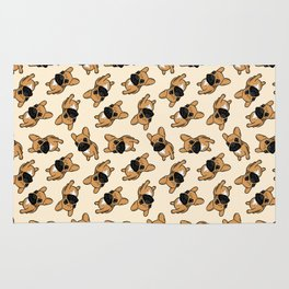 Fawn Frenchie Puppy Rug