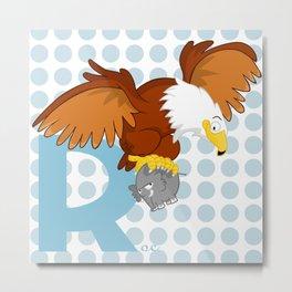 r for roc Metal Print