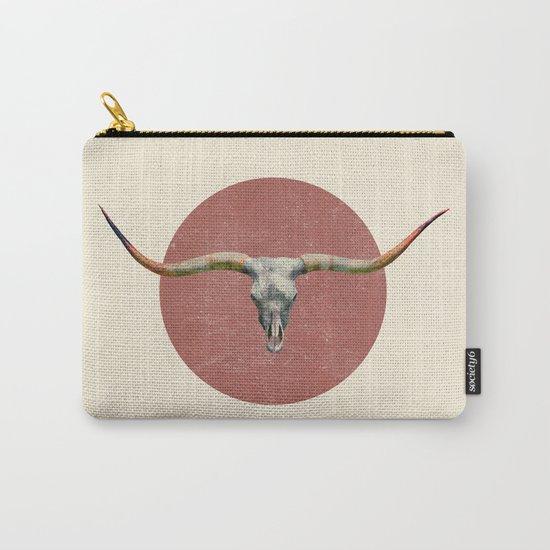 Longhorn - colour option Carry-All Pouch