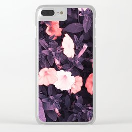 Mayflowers Clear iPhone Case