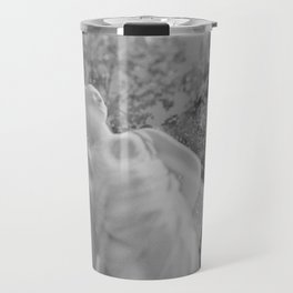 film photograph taken with crown graphic 4x5 camera Travel Mug