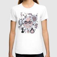 miyazaki T-shirts featuring Miyazaki Tribute by DarkChoocoolat