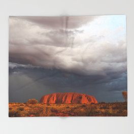 Storm Brewing Throw Blanket