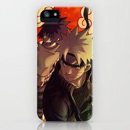 Naruto and Sasuke Fanart iPhone Case