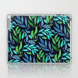 Loose Leaves - cool colors Laptop & iPad Skin