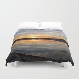 Minnesota Sunrise Duvet Cover