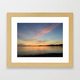 Ocean Calm VII Framed Art Print