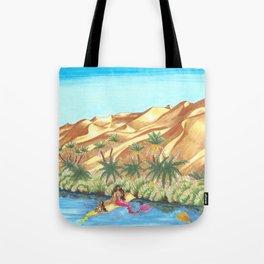 A Mermaid Oasis Tote Bag