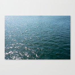 diamonds on the bay Canvas Print