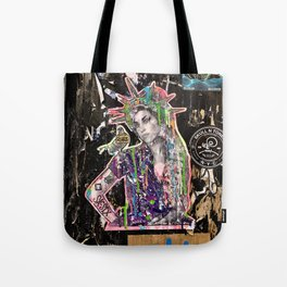 Rehab Amy Graffiti in New York City Tote Bag