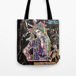 Rehab Amy Graffiti in New York City Tote Bag