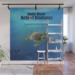 Under Water Acts of Kindness: Da General Wall Mural