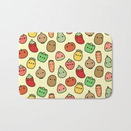 Cute fruit and veg Bath Mat