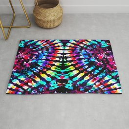 Tie Dye Hour Glass Rug