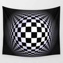 black-and-white -01- Wall Tapestry