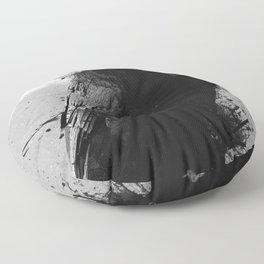 The Crow Floor Pillow