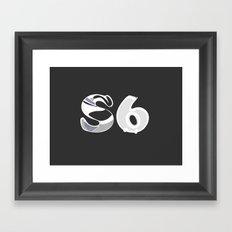 S6 Art Supplies 2 Framed Art Print