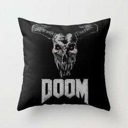 Doom - Icon of Sin Throw Pillow