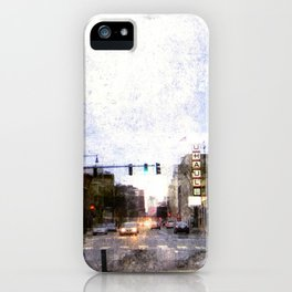 A Street in Cambridge iPhone Case