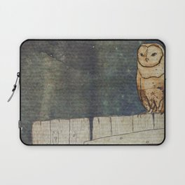 Whoo Goes There? Laptop Sleeve
