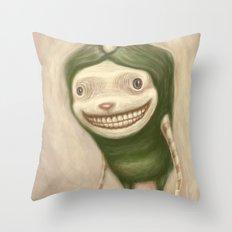 Smile No Matter What Throw Pillow