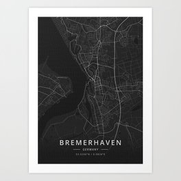Bremerhaven Germany Art Print