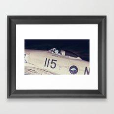 Experimental Pilot Framed Art Print