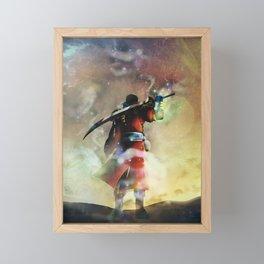 Undead guardian Framed Mini Art Print