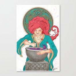 Goddess Ceriddwen Canvas Print