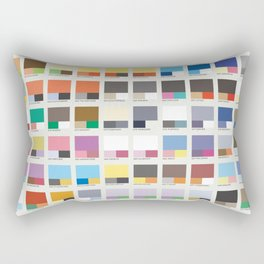 Poke-Pantone 6 (Kalos Region) Rectangular Pillow