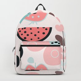 Bee in soft pink Backpack