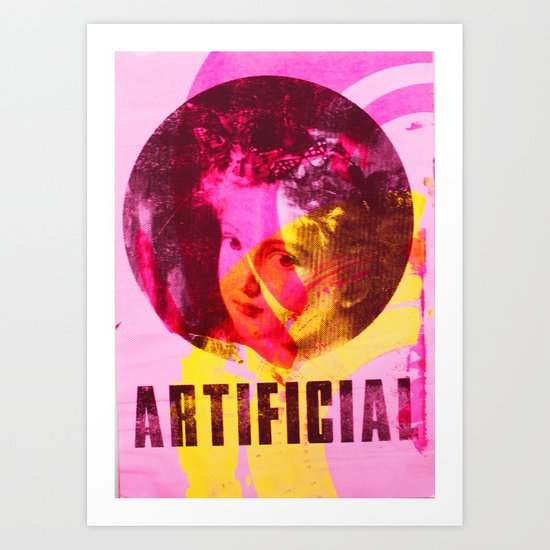 Artificial Single Art Print