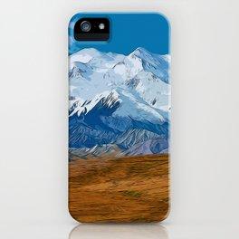 Denali National Park, Mount McKinley iPhone Case