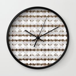 Ethnic Geo Wall Clock
