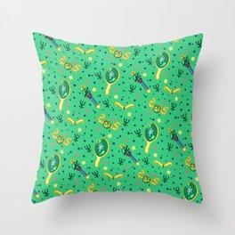 Sailor Neptune Pattern / Sailor Moon Throw Pillow