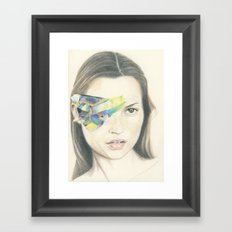 Kate the Great and Powerful Framed Art Print