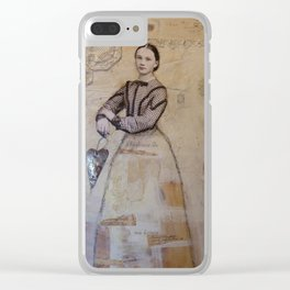 My Gentle History Clear iPhone Case