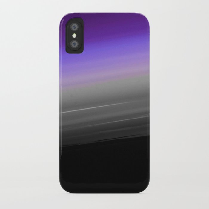 5307b8ec8ac6 Purple Gray Black Smooth Ombre iPhone Case by vintageappeal623 ...