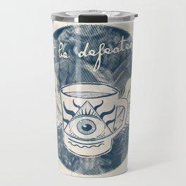 Not Be Defeated Travel Mug
