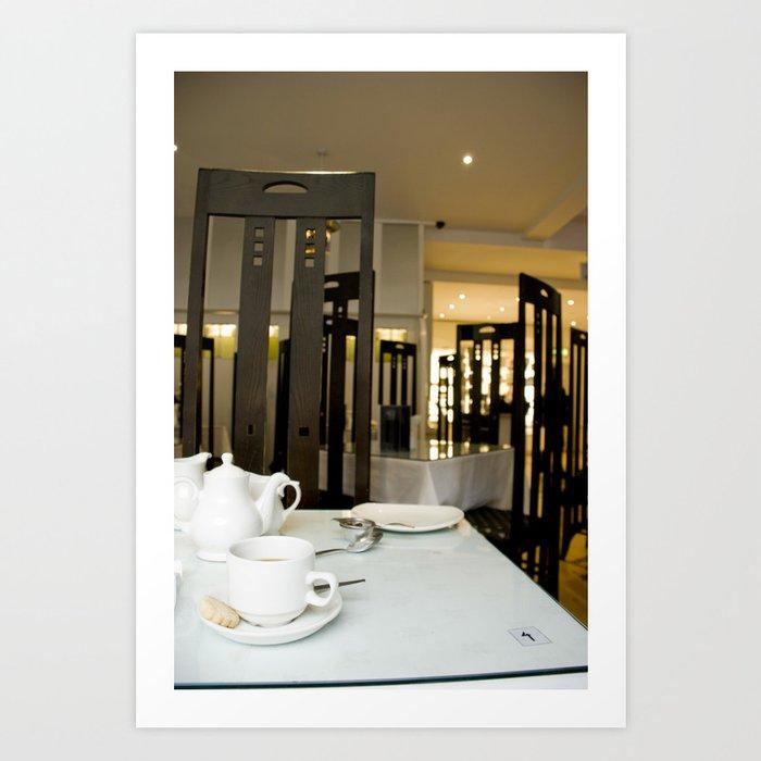 Buchanan Tea Room Art Print
