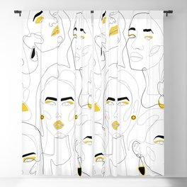 In Mustard Blackout Curtain