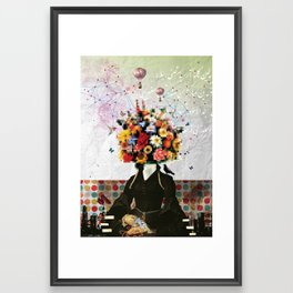 Madame Noon Framed Art Print